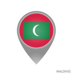 Maldives point vector