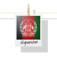 Photo of afghanistan flag vector