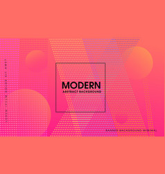 pink modern abstract background vector image