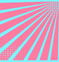 pop art sky background in crimson color points vector image