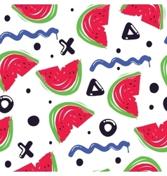 summer fashion print vector image