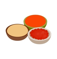 Indian spices icon isometric 3d style vector image