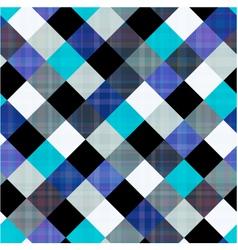 seamless geometric rhombus pattern vector image