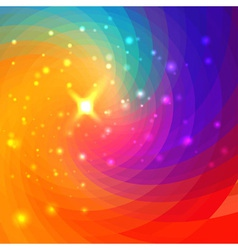 Abstract circular colorful background vector