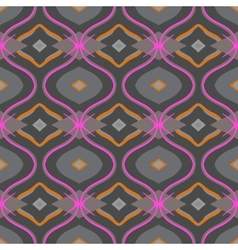 Arabic pattern in grey and pink vector