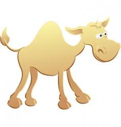 camel illustration vector image