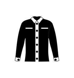 Men shirt icon simple style vector