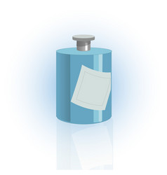 cosmetic bottle container dispenser for cream vector image vector image
