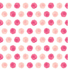cute rose flower seamless pattern background vector image vector image