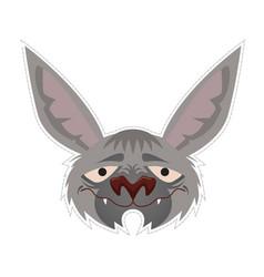 bat mask vector image vector image