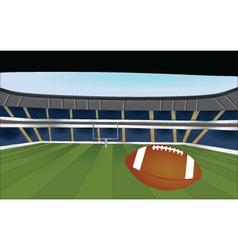 American football stadium vector image