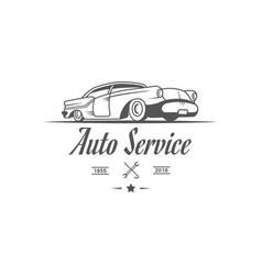 auto service logotype vector image