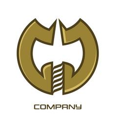 ax letter g logo vector image