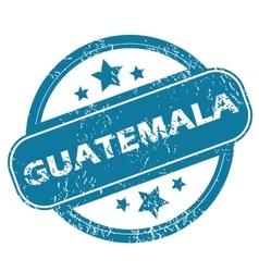 GUATEMALA round stamp vector image