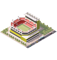Isometric stadium vector