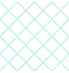 Mint White Grid Chess Board Diamond Background vector image vector image