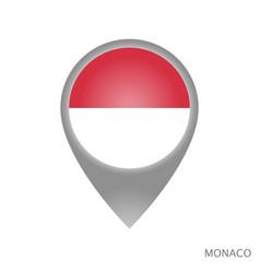 monaco point vector image