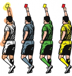referee vector image vector image