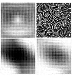 Dot Gain Textures vector image vector image