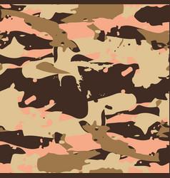 Beige desert seamless pattern - camouflage vector