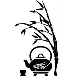 Chinese tea vector