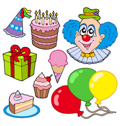 collection of party images vector image