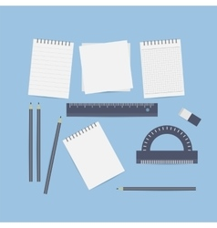 Desktop engineer designer vector