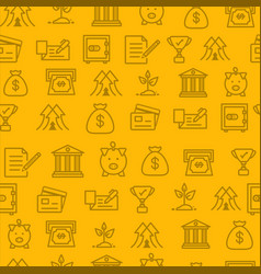 Different line style icons seamless pattern icons vector