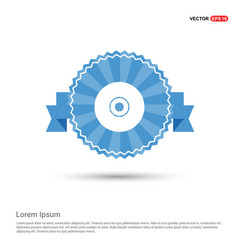 disc icon vector image