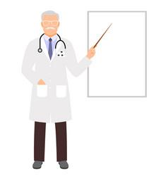Doctor presentation vector