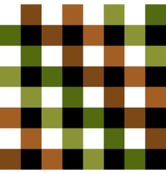 Green Brown Chess Board Background vector image