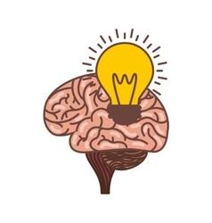 human brain icon vector image