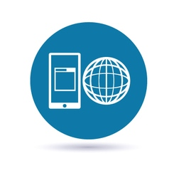 Mobile App Development icon vector