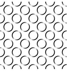 seamless wallpaper pattern with circles vector image