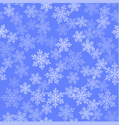 show flakes seamless pattern winter texture vector image