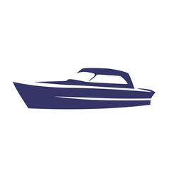 Speedboat vector
