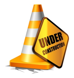 Under construction concept vector