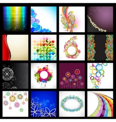 Background Collection vector image