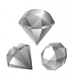 diamomds vector image