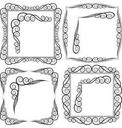 frames and corners vector image