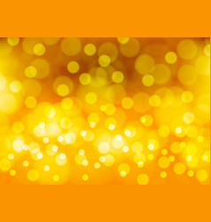 abstract yellow gold bokeh light luxury vector image vector image