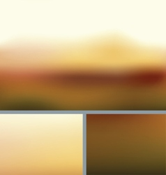 Blurred Abstract Nature Background Rocky Fall vector image vector image