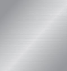 silver metal vector image