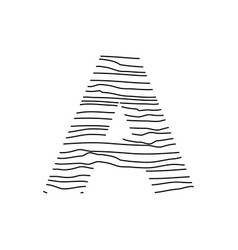 Abstract line initial vector