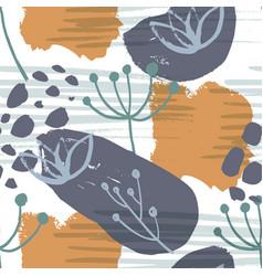 abstract natural seamless pattern vector image