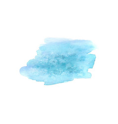Abstract watercolor spot watercolor design vector