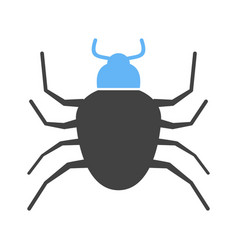 Bug crawler insect vector