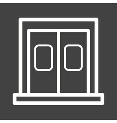 Entrance vector image