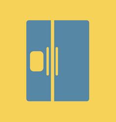Fridge refrigerator vector
