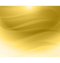 Gold background wave vector image